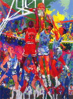 Orlando Magic 1990 Limited Edition Print - LeRoy Neiman