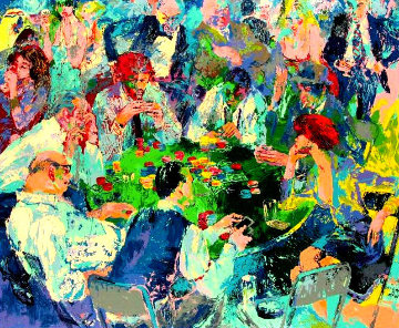Stud Poker 1978 Limited Edition Print by LeRoy Neiman