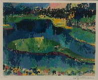 Second Hole At Sawgrass 2001 Limited Edition Print by LeRoy Neiman - 1