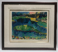 Second Hole At Sawgrass 2001 Limited Edition Print by LeRoy Neiman - 2