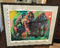 Gorilla Family 1980 Limited Edition Print by LeRoy Neiman - 1
