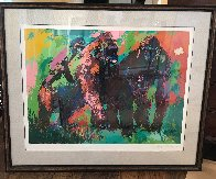 Gorilla Family 1980 Limited Edition Print by LeRoy Neiman - 2