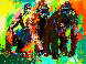 Gorilla Family 1980 Limited Edition Print by LeRoy Neiman - 0