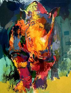 Rhino AP 2006 Limited Edition Print by LeRoy Neiman