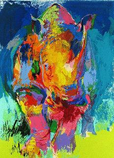 Rhino AP 2006 Limited Edition Print - LeRoy Neiman