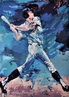 Rusty Staub 1977 Double Signed Limited Edition Print by LeRoy Neiman