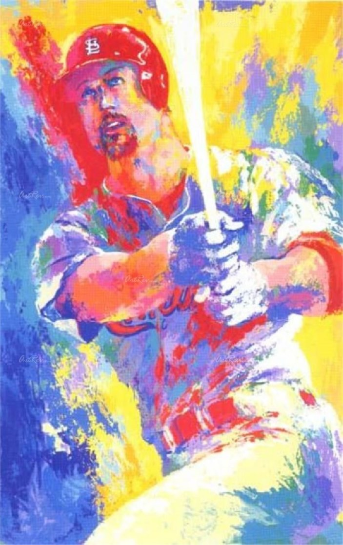 Mark Mcgwire 2003 HS By Mark and Leroy Neiman Limited Edition Print by LeRoy Neiman