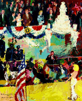 President's Birthday 1986 Limited Edition Print - LeRoy Neiman