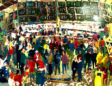 Chicago Options 1990 Limited Edition Print - LeRoy Neiman