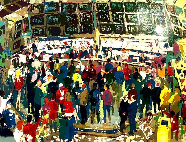 Chicago Options 1990 Limited Edition Print by LeRoy Neiman