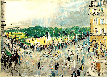 Tour De France 1981 Limited Edition Print - LeRoy Neiman