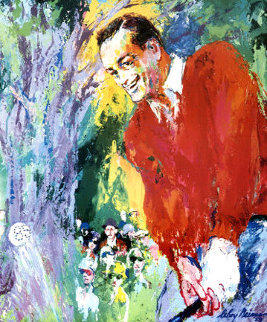 Bob Hope 1988 Limited Edition Print by LeRoy Neiman