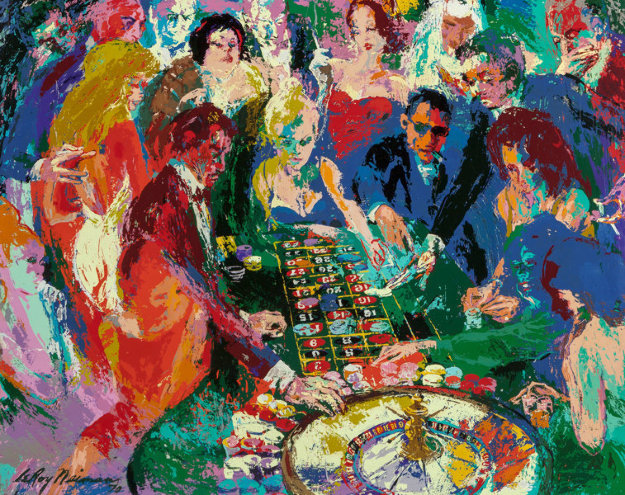 Roulette II 1970 Limited Edition Print by LeRoy Neiman