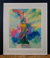 Lady Liberty 1986 Limited Edition Print by LeRoy Neiman - 1