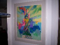 Lady Liberty 1986 Limited Edition Print by LeRoy Neiman - 3