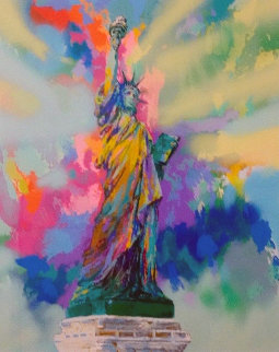 Lady Liberty 1986 Limited Edition Print - LeRoy Neiman