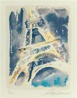 Paris  Suite of 3 Serigraphs 1994 Limited Edition Print by LeRoy Neiman - 2