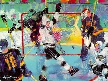 Gretzky Goal 1994 Limited Edition Print by LeRoy Neiman