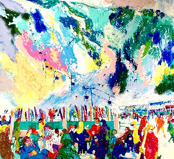 Aspen Mountain Rendezvous 2002 Limited Edition Print by LeRoy Neiman