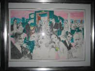 Polo Lounge Diptych 1980 Limited Edition Print by LeRoy Neiman - 4