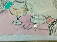 Polo Lounge Diptych 1980 Limited Edition Print by LeRoy Neiman - 5