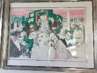 Polo Lounge Diptych 1980 Limited Edition Print by LeRoy Neiman - 3
