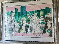 Polo Lounge Diptych 1980 Limited Edition Print by LeRoy Neiman - 2