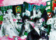 Polo Lounge Diptych 1980 Limited Edition Print by LeRoy Neiman - 0