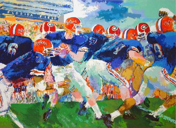Florida Gators  Limited Edition Print - LeRoy Neiman