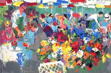 Bistro Garden 1987 Limited Edition Print - LeRoy Neiman