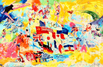 Montreal Olympics AP 1976  Limited Edition Print - LeRoy Neiman