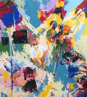 X-Rated Filmmakers 1974 Limited Edition Print by LeRoy Neiman