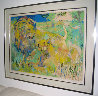 Lion Couple 1981 Limited Edition Print by LeRoy Neiman - 1