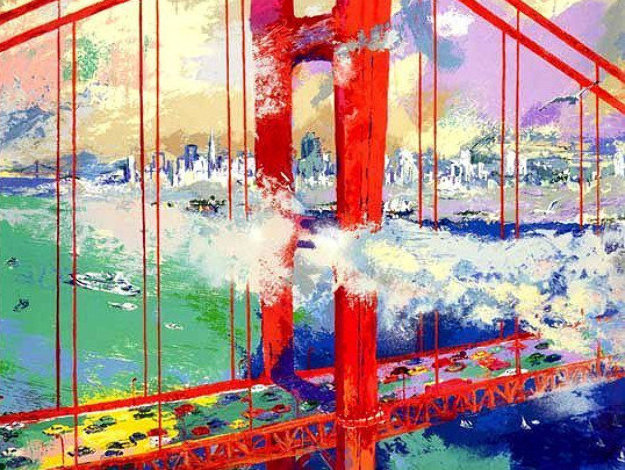 San Francisco By Day 1991 Limited Edition Print by LeRoy Neiman