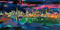 City By the Bay 1993 Limited Edition Print by LeRoy Neiman - 0