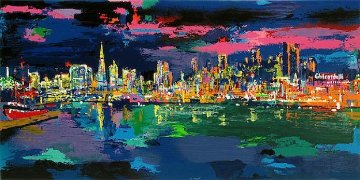 City By the Bay 1993 Limited Edition Print by LeRoy Neiman