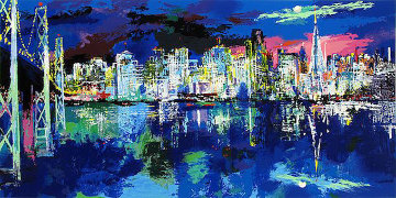San Francisco Nocturne 1992 Limited Edition Print by LeRoy Neiman