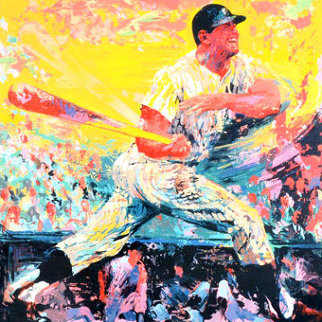 Mickey Mantle AP 1999 Limited Edition Print by LeRoy Neiman