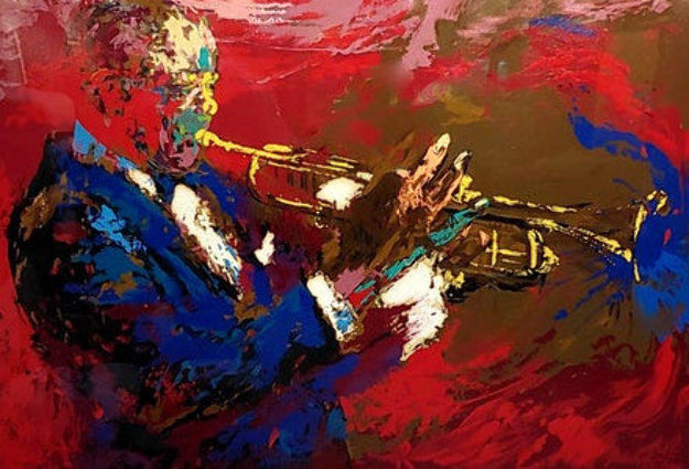 Satchmo Louis Armstrong 1976 Limited Edition Print by LeRoy Neiman