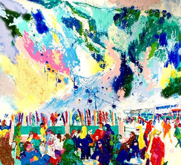 Aspen Mountain Rendezvous Limited Edition Print by LeRoy Neiman