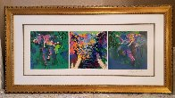 Elephant Triptych AP  Limited Edition Print by LeRoy Neiman - 4