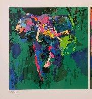 Elephant Triptych AP  Limited Edition Print by LeRoy Neiman - 2