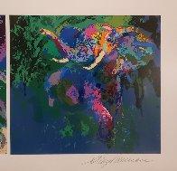 Elephant Triptych AP  Limited Edition Print by LeRoy Neiman - 3