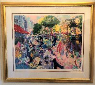 Cafe Fouquet's Limited Edition Print by LeRoy Neiman - 1