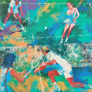 Mixed Doubles Limited Edition Print by LeRoy Neiman
