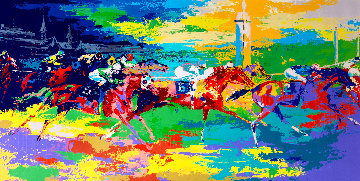 Kentucky Derby 1979 Limited Edition Print - LeRoy Neiman