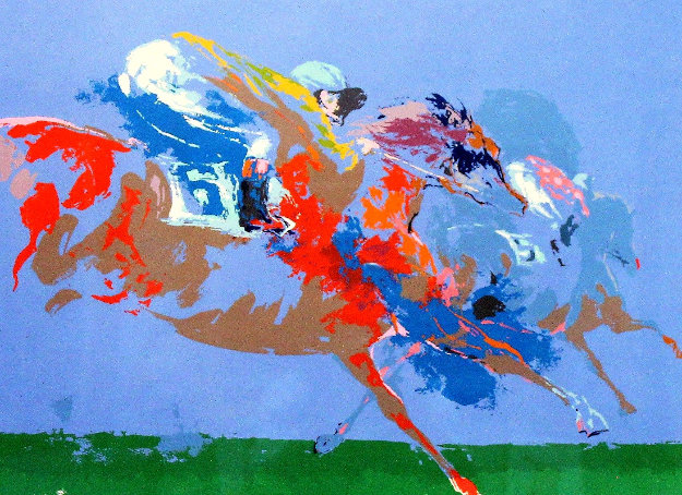 In the Stretch 1972 Limited Edition Print by LeRoy Neiman