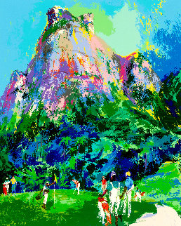 International Foursome Limited Edition Print by LeRoy Neiman