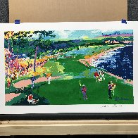 18th At Pebble Beach HS Poster Limited Edition Print by LeRoy Neiman - 1
