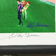 18th At Pebble Beach HS Poster Limited Edition Print by LeRoy Neiman - 2